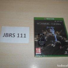 Xbox One: XBOX ONE - LA TIERRA MEDIA , SOMBRAS DE GUERRA , PAL ESPAÑOL , PRECINTADO. Lote 193276842