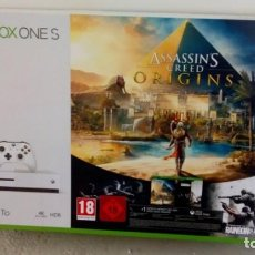 Xbox One: XBOX ONE S 1 TB EN EXCELENTE ESTADO, COMPLETA EN CAJA. Lote 193948678