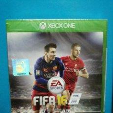Xbox One: JUEGO XBOX ONE FIFA 2016 LEGENDS SIN ABRIR PRECINTADO. Lote 194255733
