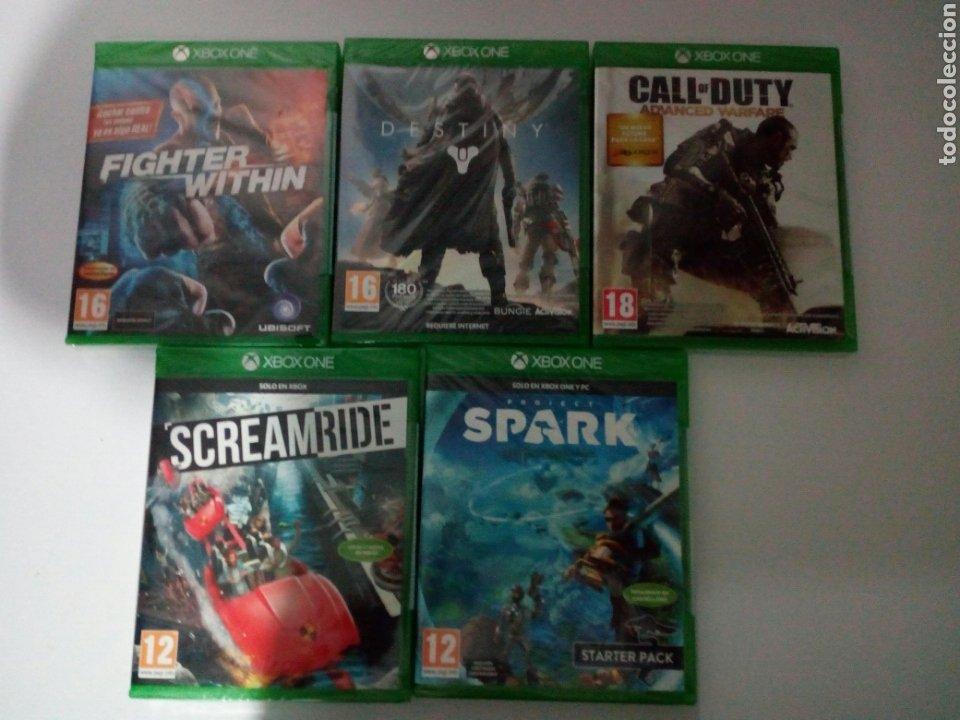 Xbox One: LOTE DE 5 JUEGOS XBOX ONE. PRECINTADOS. A ESTRENAR. TOTALMENTE EN CASTELLANO - Foto 3 - 194530902