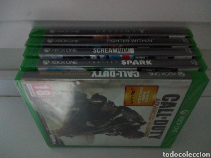 Xbox One: LOTE DE 5 JUEGOS XBOX ONE. PRECINTADOS. A ESTRENAR. TOTALMENTE EN CASTELLANO - Foto 4 - 194530902