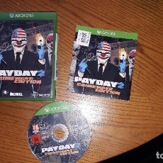 Xbox One: JUEGO XBOX ONE PAYDAY 2. Lote 195265983