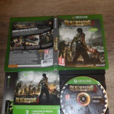 Xbox One: XBOX ONE DEADRISING 3 PAL ESP COMPLETO. Lote 202944803