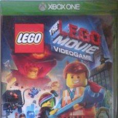 Xbox One: XBOX ONE: PRECINTADO. THE LEGO MOVIE. Lote 203010083
