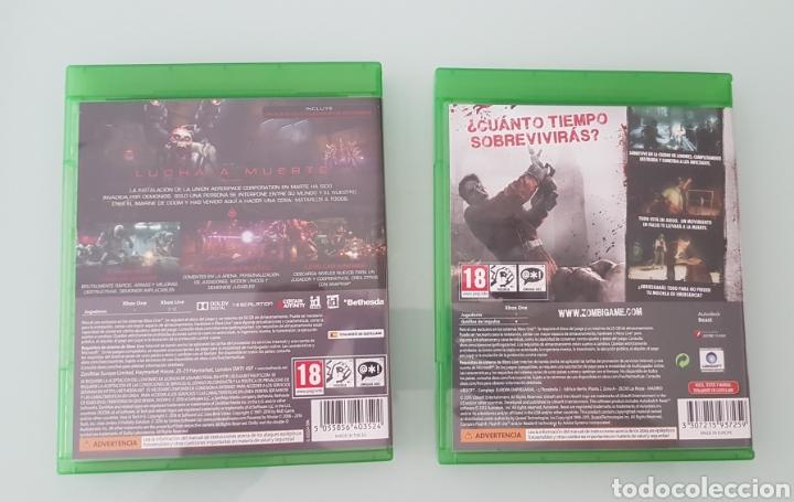 Xbox One: Pack juegos XBOX Domm y Zombi - Foto 2 - 203233012