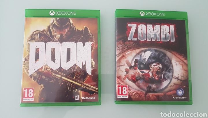 PACK JUEGOS XBOX DOMM Y ZOMBI (Juguetes - Videojuegos y Consolas - Xbox One)