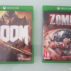 Xbox One: PACK JUEGOS XBOX DOMM Y ZOMBI. Lote 203233012