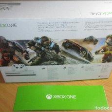 Xbox One: CAJA VACIA XBOX ONE 500 GB / GO MICROSOFT. Lote 203504227