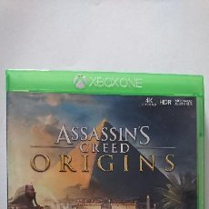 Xbox One: ASSASSINS CREED ORIGINS XBOX ONE PAL ESPAÑA. Lote 203831443