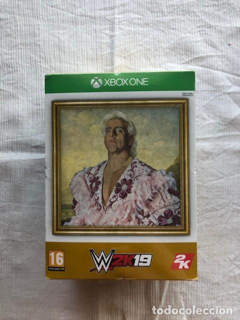 WWE 2K19 WOOOO! EDITION COLLECTORS RICK FLAIR MICROSOFT XBOX ONE PAL UK NUEVO PRECINTADO (Juguetes - Videojuegos y Consolas - Xbox One)