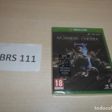Xbox One: XBOX ONE - LA TIERRA MEDIA - SOMBRAS DE GUERRA , PAL ESPAÑOL , PRECINTADO. Lote 205688983