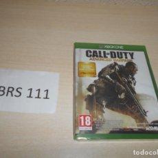 Xbox One: XBOX ONE - CALL OF DUTY ADVANCED WARFARE , PAL ESPAÑOL , PRECINTADO. Lote 206159045