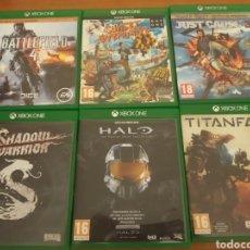 Xbox One: LOTE XBOX ONE. Lote 206586297