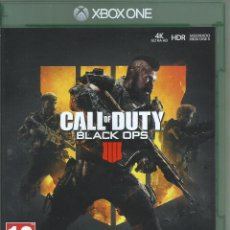 Xbox One: CALL OF DUTY: BLACK OPS 4. Lote 206779351