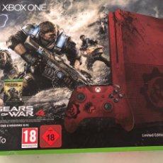 Xbox One: XBOX ONE GEARS OF WAR 4 EDICIÓN LIMITADA. Lote 209310890