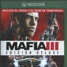 Xbox One: MAFIA III (EDICION DELUXE). Lote 209334772
