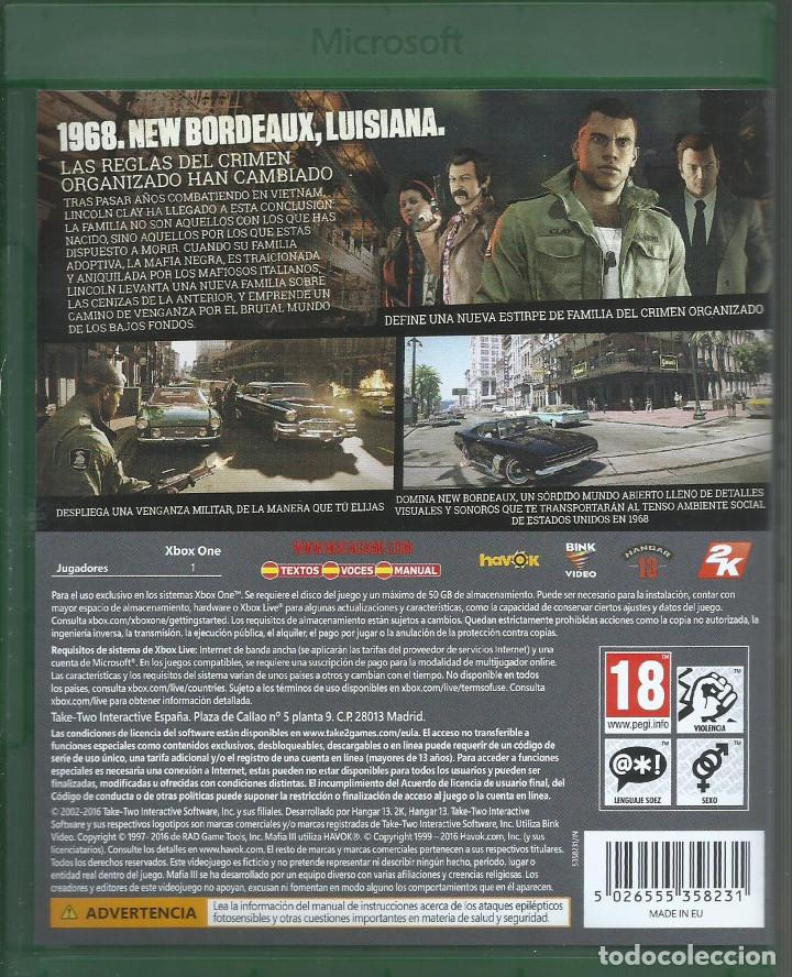 Xbox One: Mafia III (Edicion Deluxe) - Foto 2 - 209334772