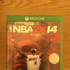 Xbox One: NBA 2K14 XBOX ONE. Lote 210663884