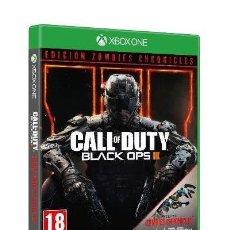 Xbox One: CALL OF DUTY BLACK OPS III ZOMBIE VIDEO-JUEGO XBOX ONE SELLADO EDICION ESPAÑOLA. Lote 211865653