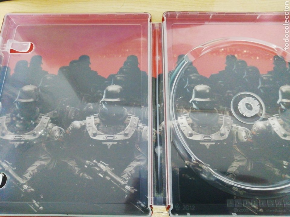 Xbox One: Steelbook Wolfestein II: The new Colossus (NO CONTIENE JUEGO) XBOX ONE PS4 - Foto 2 - 214796173