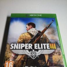 Xbox One: SNIPER ELITE 3 XBOX ONE. Lote 218341005