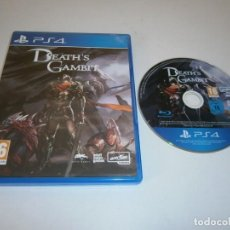 Xbox One: DEATH'S GAMBIT PLAYSTATION 4 PAL ESPAÑA. Lote 219012928