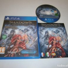 Xbox One: SHADOWS AWAKENING PLAYSTATION 4 PAL ESPAÑA COMPLETO. Lote 219013225