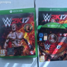 Xbox One: WWE W2K17 W 2K 17 2K17 XONE XBOX ONE X-BOX KREATEN. Lote 219827910
