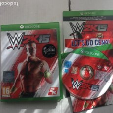 Xbox One: WWE W2K15 W 2K 15 2K15 XONE XBOX ONE X-BOX KREATEN. Lote 219828268