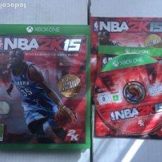 Xbox One: NBA 2K15 2K 15 XONE XBOX ONE X-BOX KREATEN. Lote 219828515