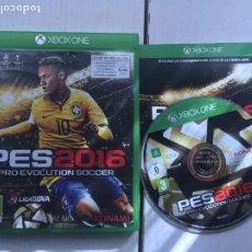 Xbox One: PES 16 PRO EVOLUTION SOCCER 2016 XONE XBOX ONE X-BOX KREATEN. Lote 219828861