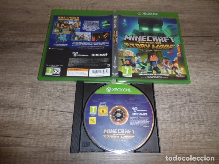 XBOX ONE MINECRAFT STORY MODE TEMPORADA DOS PAL ESP COMPLETO (Juguetes - Videojuegos y Consolas - Xbox One)
