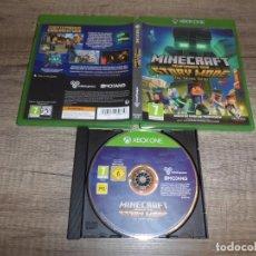 Xbox One: XBOX ONE MINECRAFT STORY MODE TEMPORADA DOS PAL ESP COMPLETO. Lote 220717687