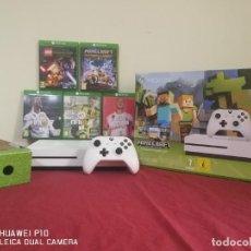 Xbox One: CONSOLA MICROSOFT XBOX ONE S. Lote 221301915