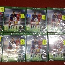 Xbox One: LOTE 10 JUEGOS FIFA 16 XBOX ONE EDICIÓN EXTRANJERA, IDEAL MERCADILLO O MERCADO. Lote 221385546