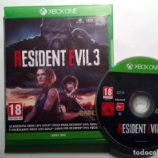 Xbox One: RESIDENT EVIL 3 REMAKE (2020) XBOX ONE - PAL.. Lote 221581490