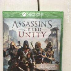 Xbox One: ASSASSIN'S CREED UNITY XBOX ONE XONE KREATEN NUEVO PRECINTADO. Lote 221703030