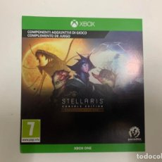 Xbox One: CÓDIGO DIGITAL STELLARIS: CONSOLE EDITION - EXPANSION PASS ONE XBOX ONE. Lote 221732095