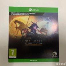 Xbox One: CÓDIGO DIGITAL STELLARIS: CONSOLE EDITION - EXPANSION PASS ONE XBOX ONE. Lote 221732095
