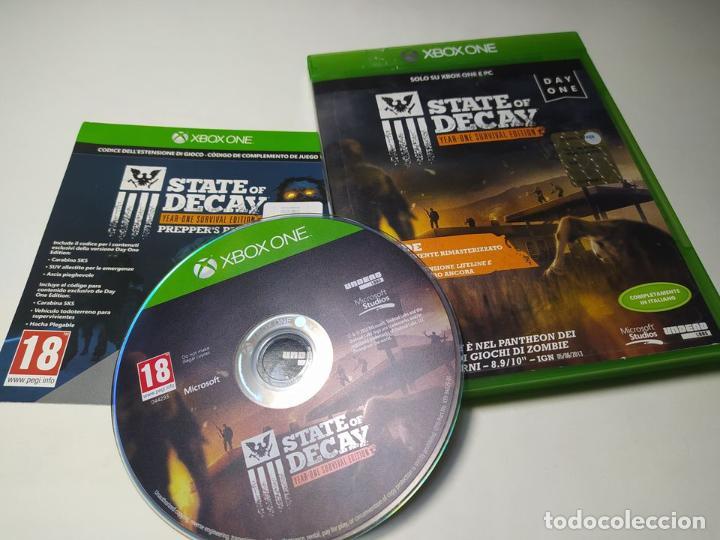 STATE OF DECAY - YEAR-ON ( PAL - ITALIA - EN ESPAÑOL) ( XBOX ONE - PAL ) (Juguetes - Videojuegos y Consolas - Xbox One)