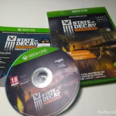 Xbox One: STATE OF DECAY - YEAR-ON ( PAL - ITALIA - EN ESPAÑOL) ( XBOX ONE - PAL ). Lote 222489326