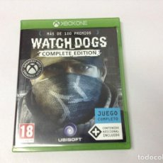 Xbox One: WATCH DOGS COMPLETE EDITION. Lote 222563965