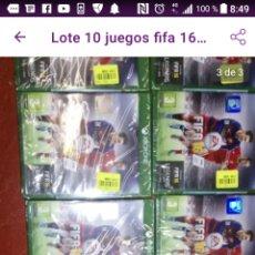 Xbox One: LOTE 10 JUEGOS FIFA 16 XBOX ONE EDICIÓN EXTRANJERA IDEAL MERCADILLO MERCADO ETC NUEVOS. Lote 222856556