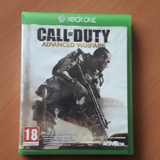 Xbox One: 08-00374 -JUEGO XBOX ONE - CALL OF DUTY ADVANCED WARFARE. Lote 223821518