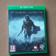 Xbox One: 08-00376 -JUEGO XBOX ONE - LAS SOMBRAS DE MORDOR. Lote 223821695