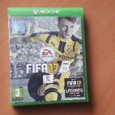 Xbox One: 08-00383 -JUEGO XBOX ONE - FIFA 17. Lote 223822530