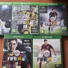 Xbox One: 08-00380-81-82-83-84 -JUEGO XBOX ONE - PACK JUEGOS FIFA. Lote 223822670