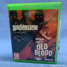 Xbox One: VIDEOJUEGO XBOX ONE - WOLFENSTEIN THE NEW ORDER - OLD BLOOD - 2 CD'S. Lote 225296702