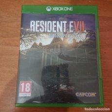 Xbox One: RESIDENT EVIL BIOHAZARD XBOX ONE. Lote 228723005