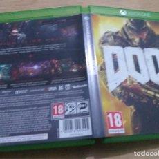 Xbox One: DOOM PAL MICROSOFT XBOX ONE CASTELLANO. MUY BUEN ESTADO. Lote 236066780